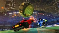 Rocket League would accept been as acknowledged as it currently